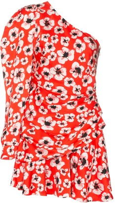 Borgo de Nor Christina floral print mini dress