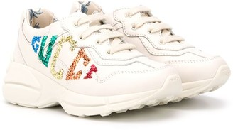Gucci Kids Rhyton sneakers