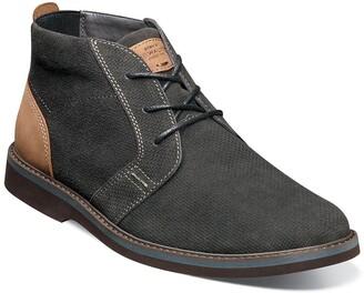 Nunn Bush Barklay Leather Plain Toe Chukka Boot - Wide Width Available