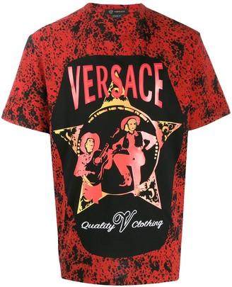 Versace Western print T-shirt