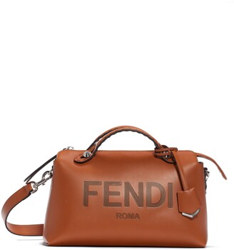 Fendi Medium By The Way Calfskin Leather Satchel