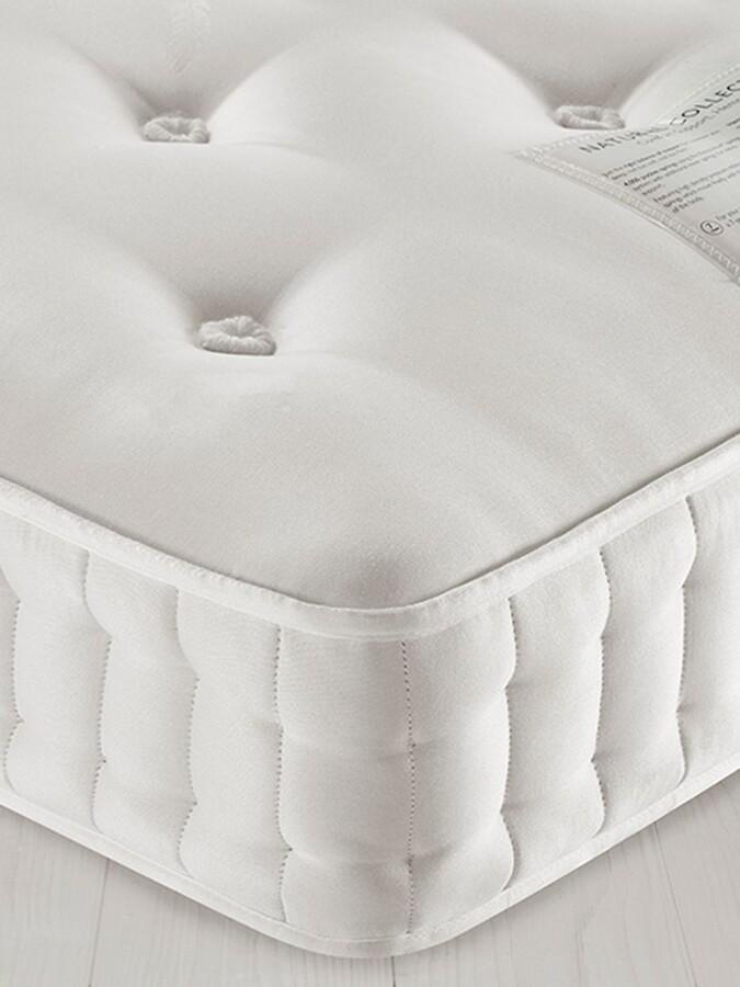 John Lewis & Partners Natural Collection Egyptian Cotton 5900, Super King Size, Medium Tension Pocket Spring Mattress