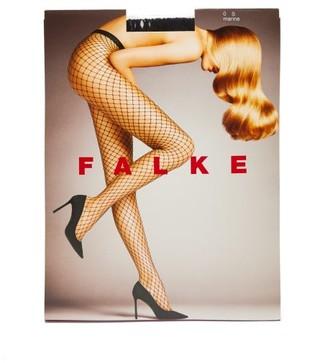 Falke Fishnet Tights - Womens - Navy