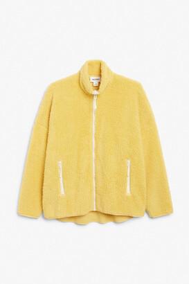 Monki Zip-up fleece