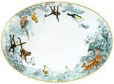 Hermes Carnets d'Equateur Medium Oval Platter