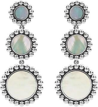 Lagos Maya Triple Circle Drop Earrings