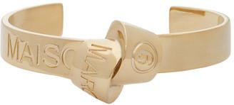MM6 MAISON MARGIELA Gold Knot Bracelet