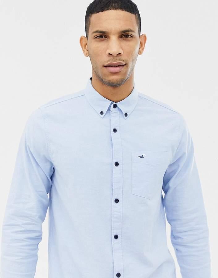 0d9df792 Hollister Blue Fitted Tops For Men - ShopStyle UK