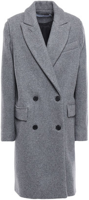 IRO Fine Double-breasted Wool And Cashmere-blend Felt Coat