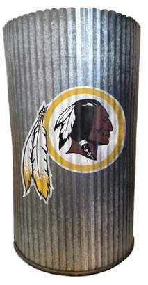Redskins NFL Washington Metal Cylinder Vase
