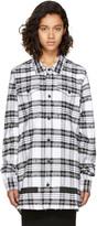 Off-White White Check Rips Shirt