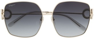 Salvatore Ferragamo SF243SR oversize-frame sunglasses