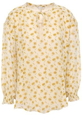 Joie Tyla Floral-print Silk-georgette Blouse