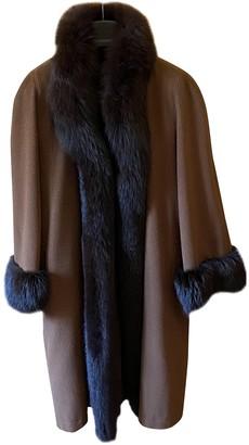 Saint Laurent Camel Cashmere Coats