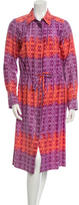 Sophie Theallet Printed Lilac Dress w/ Tags