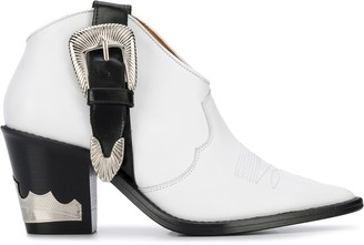 Toga Pulla Buckled Cowboy Boots