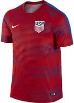 Nike Men's U.S. Pre-Match Training II Soccer Short-Sleeve Shirt