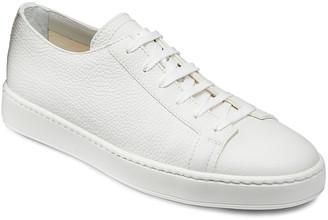 Santoni Men's Clean Iconic Leather Low-Top Sneakers