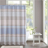 Asstd National Brand Clarice Cotton Shower Curtain