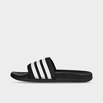 adidas Women's adilette Cloudfoam Plus Slide Sandals