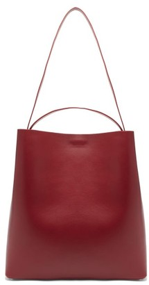 Aesther Ekme - Sac Leather Tote Bag - Womens - Burgundy