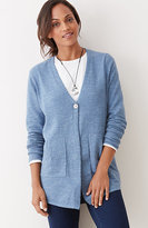 J. Jill Pure Jill V-Neck Easy Cardi