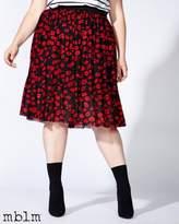 Penningtons mblm Printed Pleated Skirt