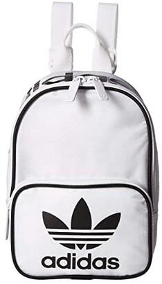 adidas Originals Santiago Mini Backpack (White/Black) Backpack Bags