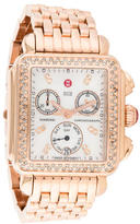 Michele Deco Chronograph Watch