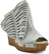 Sbicca Stone Pitch Suede Wedge Clog