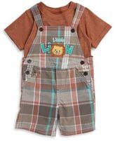 Nannette Infants Two Piece Overalls Short Set