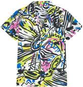 Moschino Mini Me printed shirt