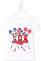 Little Marc Jacobs cheerleader print T-shirt