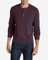 Eddie Bauer Men's Signature Cotton Henley Sweater