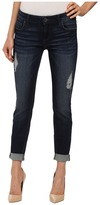 KUT from the Kloth Catherine Slouchy Boyfriend Jeans in Luxury/Euro Base Wash