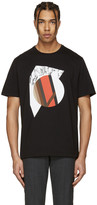 Neil Barrett Black Marble Modernist T-Shirt