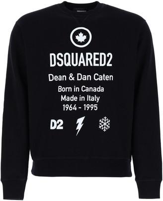 DSQUARED2 Born In Canada Print Sweatshirt