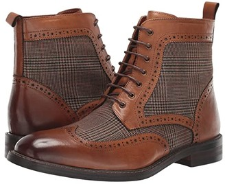 Vintage Foundry The Helidor High-Top Boot (Tan) Men's Shoes