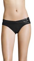 Herve Leger Solid Bikini Bottom