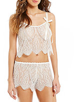 Hanky Panky Alexandra Cropped Lace Camisole
