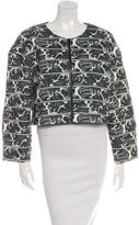 Elizabeth and James Printed Crop Jacket