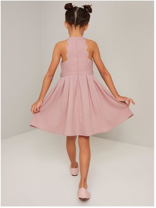 Chi Chi London Girls Adelie Dress - Mink
