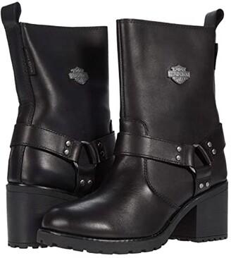 Harley-Davidson Howell 7 Harness (Black) Women's Boots