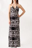 Mono B Halter Maxi Dress