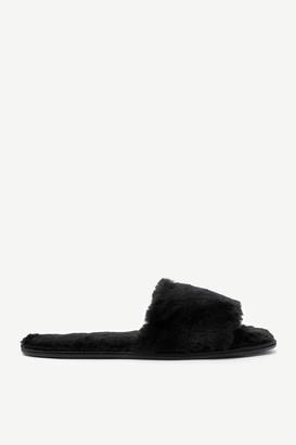 Ardene Faux Fur Slide Slippers