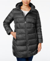 MICHAEL Michael Kors Size Hooded Packable Down Puffer Coat