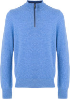 Paul & Shark zipped up collar sweater