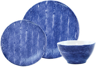 Vietri Santorini Stripe 3-Piece Place Setting