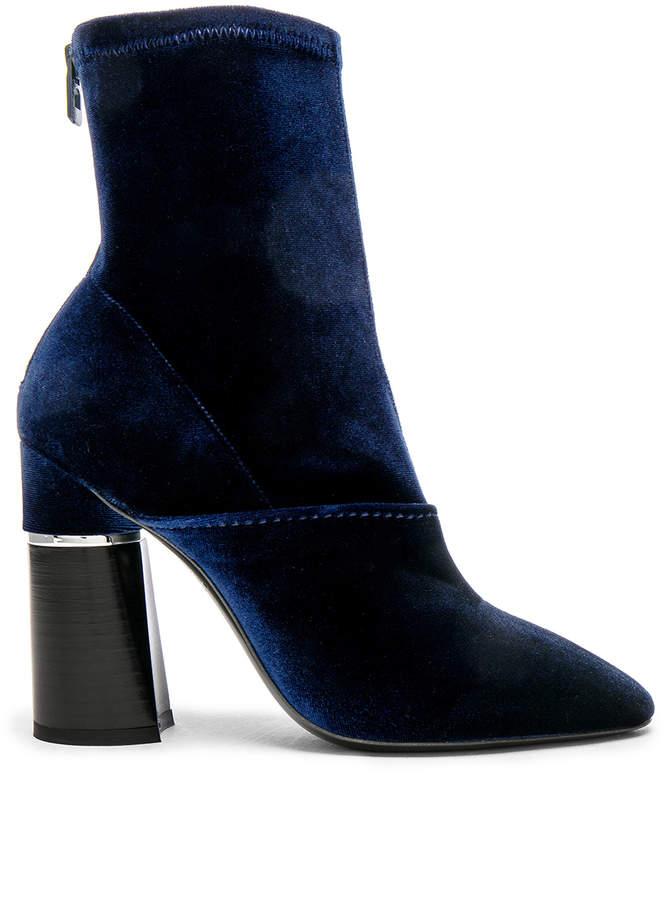 3.1 Phillip Lim Velvet Kyoto Boots