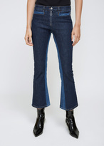 Courreges Washed Out Blue Denim Trousers